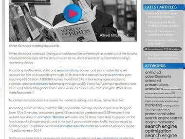 Blog for Theoria Creative