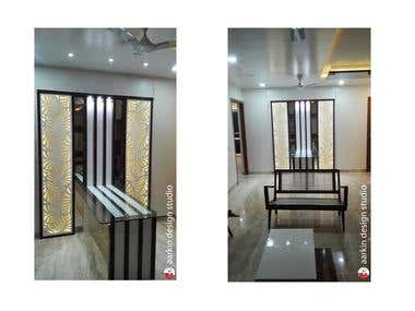 2bhk flat interior july2016- freelanced design + execution