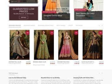 eCommerce Website (opencart)