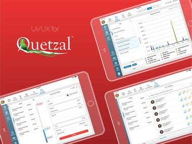 Inventory app for Quetzal