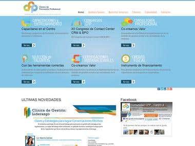 Portal del Centro de Formación Profesional de Latinoamérica
