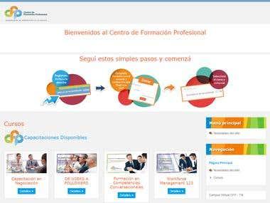Portal Educativo del Centro de Formación Profesional de Lati
