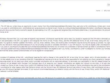 Wikipedia Like Website