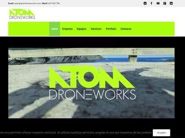 Atom Drone Works Website