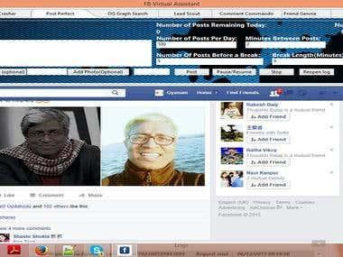 email web scraper for facebook