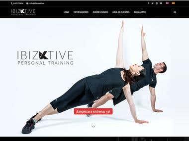 Ibizaktive Website Design