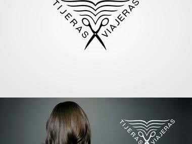Logotipo Tijeras Viajeras