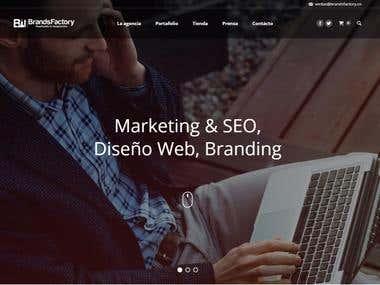 BrandsFactory Website