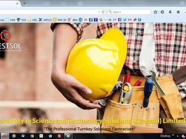 Website Development for Construction Consulting Industry