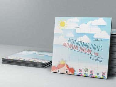 Diseño para libro de inglés infantil