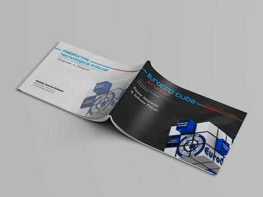 Maquetación de folleto