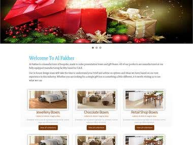 Gift Box website