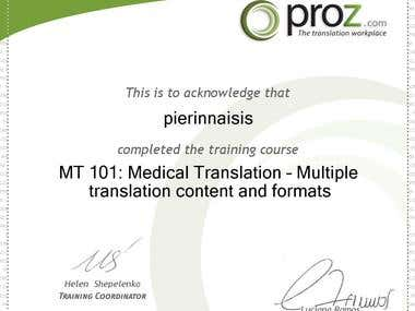 Multiple Medical content translation