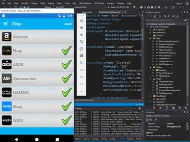 Xamarin.Forms Application