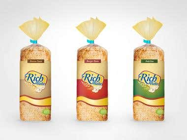 Raha Bread Packaging