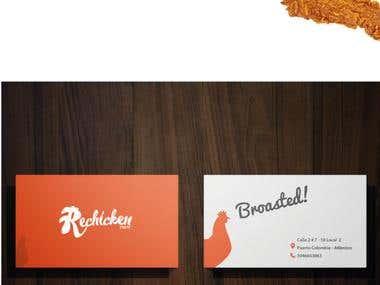Design process Branding - Logo Design Chicken Rest