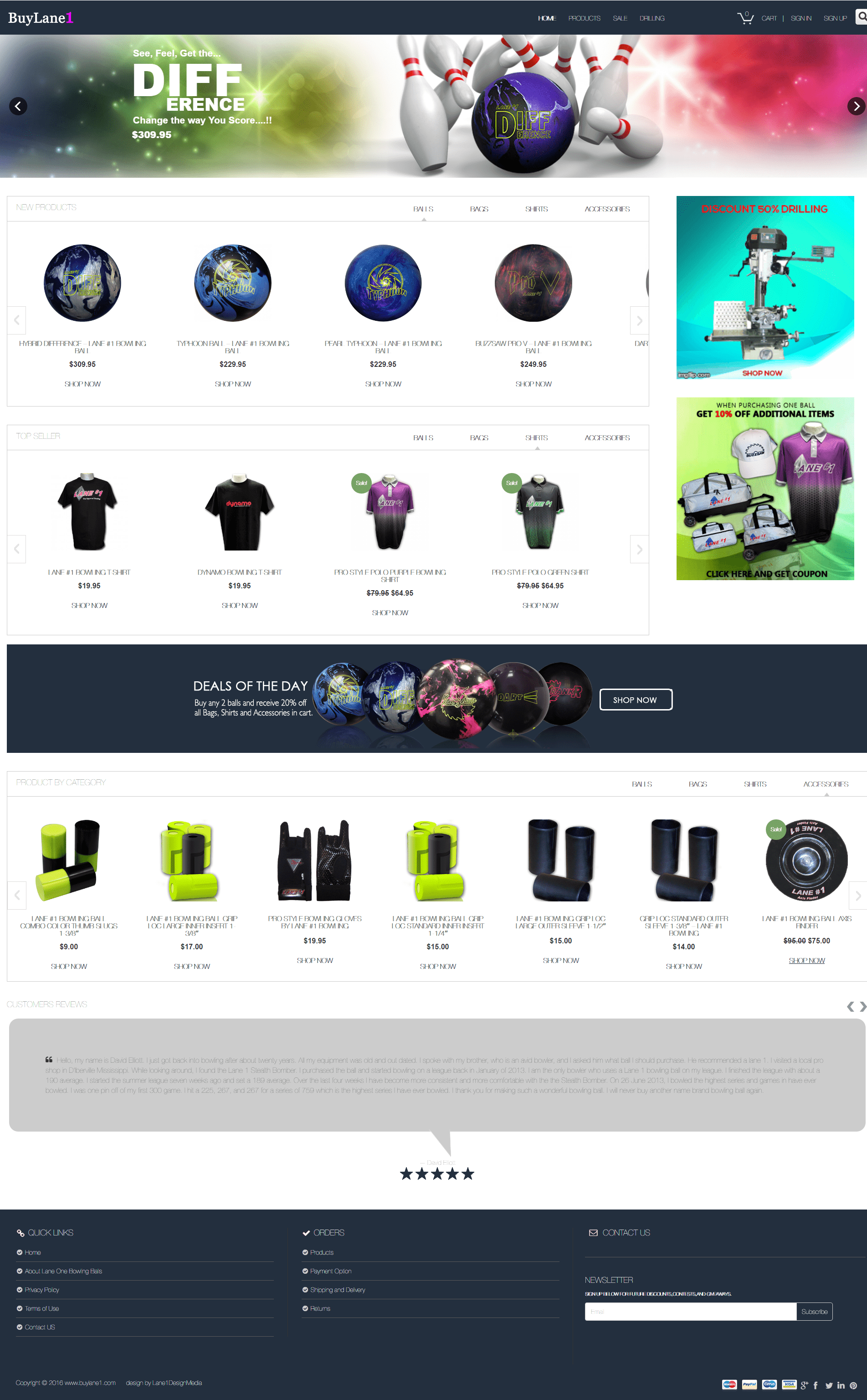 BuyLaneOne - A WooCommerce base Online store