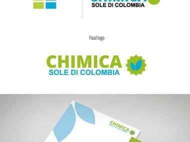 Logo redesign . Chimica Sole di Colombia