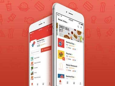 Foodviser - Online food Delivery app
