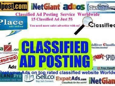 Classified AD Posting Services