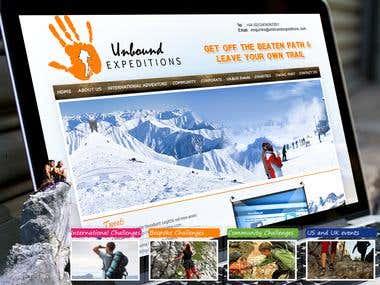 Unbound Expeditions (WordPress)