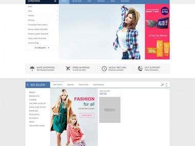 Wordpress with Wocommerce