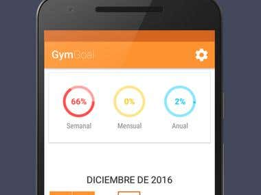 GymGoal - Android app