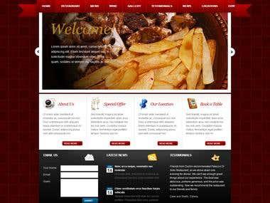 Website Tamplate Design