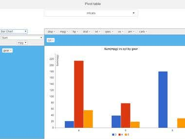 Pivot Tables and Charts - Shiny Gadget