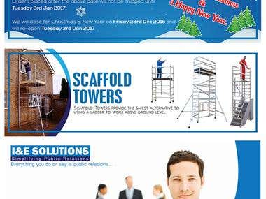 Web Site Banners