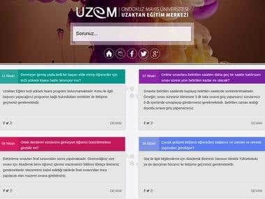 FAQ Support System