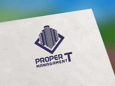 Design a Logo - Real Estate management proper t