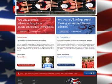 GIRL SCHOLAR USA - THE SPORT SCHOLARSHIP NETWORKING SITE