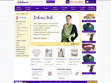 Website design for Jubilane