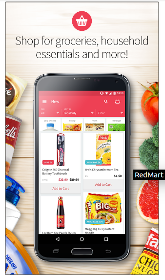 Red Mart Grocery Shopping (Android App)
