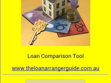 The Loan Arranger Loan Comparison Tool