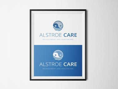 Alstroe Care Logo Design
