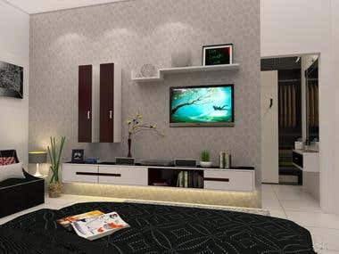 Elegant TV walls