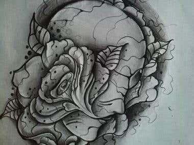 Sketch tattoo #7