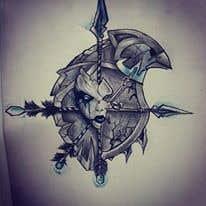Sketch tattoo #2