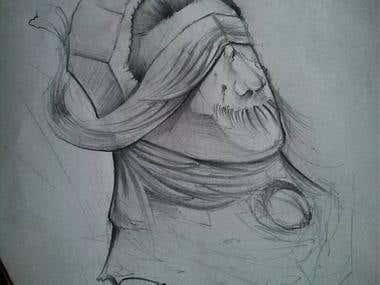 Sketch tattoo #8