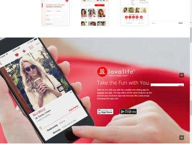 LavaLife Chatting/Dating (WEBSITE)