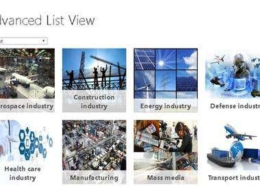 SharePoint - Advanced SharePoint List view