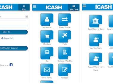iCASH - eWallet (Android App)