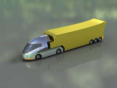 Toy truck product design