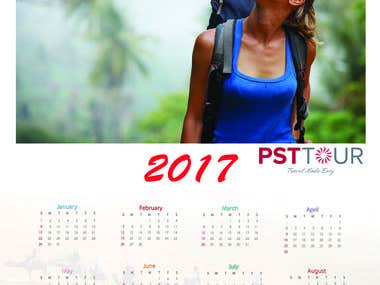 New year callender Design