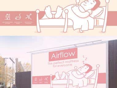 Airflow Billboard design