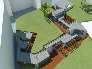 Folding house