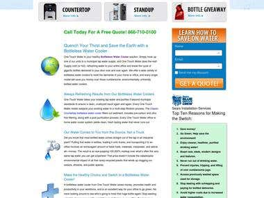 Water supply website