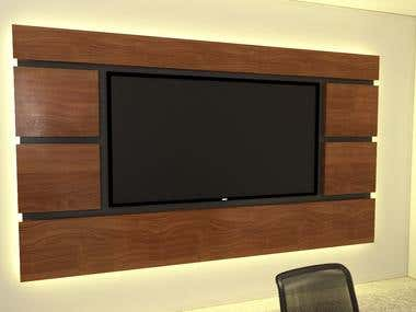 TV stand/shelf design